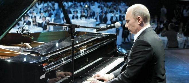 Empalmar a las personalidades divididas de los pintores en el 'yo dual' de Putin