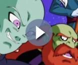 El supremo Kaio-shin y el dios destructor del universo 9