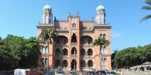 Castelo Oswaldo Cruz, sede da Fiocruz, no Rio de Janeiro