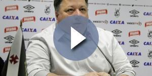 Anderson Barros é diretor de futebol do clube vascaíno (Foto: Reprodução)