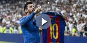 Messi place un Madrilène parmi les 6 meilleurs joueurs qu'il a affronté!