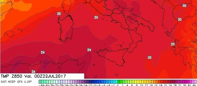 Previsioni Meteo: torna nuovamente il caldo da metà settimana