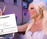 Alles nur Show? Daniela Katzenberger soll nicht verheiratet sein, berichtete die BILD am Mittwochabend / Fotos: RTL2, Screenshot Bild.de