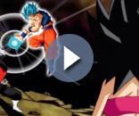 FanArt de Goku atacando a Jiren