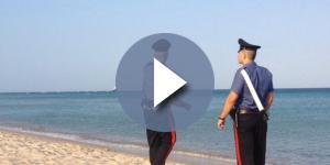 Ragazzina stuprata in spiaggia.