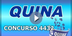 Sorteio da Quina, pelo concurso 4432