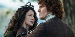 Outlander' Star Caitriona Balfe from screenshot