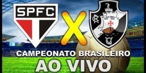 São Paulo e Vasco jogam nesta quarta-feira (19) pela 15ª rodada do Brasileirão (Foto: Reprodução/ Montagem)