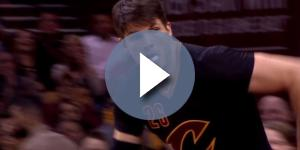 Kyle Korver will stay with the Cleveland Cavaliers - YouTube/FOX Sports Ohio