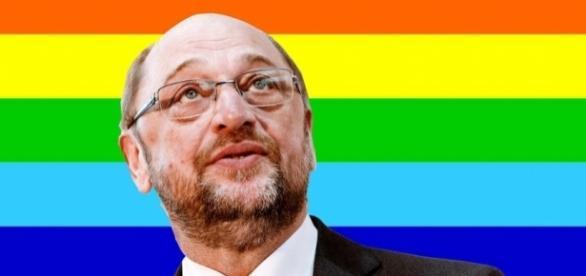 """Wahlkampfthema der Vergangenheit: Martin Schukz' """"Ehe für alle"""" - bento.de"""