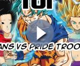 DBS 101: Saiyans vs Pride Troopers !