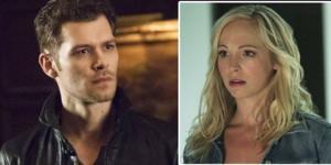 Klaus Mikaelson, de The Originals e Caroline Forbes, The Vampire Diaries. (Foto: Reprodução)