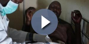 Andrew Kamau recebeu tratamento em uma clínica (Foto: Reprodução)