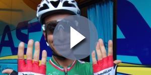 Il Campione d'Italia Fabio Aru