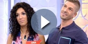 MYHYV: Ana y Labrador durante su estancia en 'Mujeres y hombres'