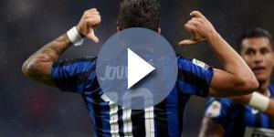 Stevan Jovetic - Joueur de l'Inter Milan