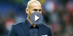 Zinedine Zidane, durante un encuentro con el Madrid