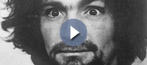 Fotografía de Charles Manson una vez arrestado