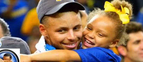 Riley Curry celebrated her 5th birthday with a unicorn-themed celebration. Image credit - YouTube/Latest News