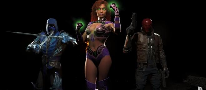 'Injustice 2' Starfire gameplay at Comic-Con likely, Black Manta leaked again