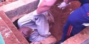 Após briga, homem é enterrado vivo em São Paulo (Foto: Reprodução)