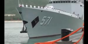 China Ships In Baltic Prepare For Drills With Russia- Image - Wochit News| YouTube