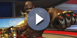 Doomfist is said to be patterned after famous actor Terry Crews. [Image credit PlayOverwatch/Youtube]