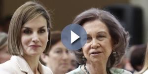 Letizia y Sofía coinciden en los últimos Premios Reina Sofía - Chic - libertaddigital.com