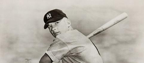 Mickey Mantle - New York Yankees via Wikimedia Commons