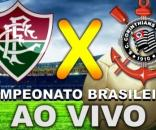 Assista ao vivo, Fluminense e Corinthians, pelo Campeonato Brasileiro 2017