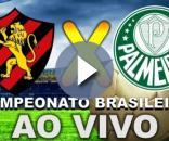 Neste domingo (22) tem Sport x Palmeiras ao vivo pelo Brasileirão