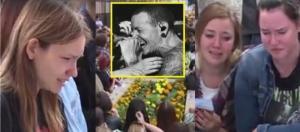 Fãs choram a morte de Chester Bennington