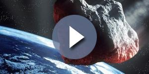 Asteroide vicino all'atmosfera della Terra