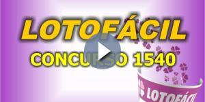 Veja os números que foram sorteados na Lotofácil, nesta sexta-feira (21)
