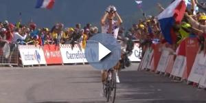 Warren Barguil, la vittoria sull'Izoard