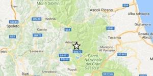 Terremoto:Campotosto è l'epicentro della scossa di magnitudo 4,2