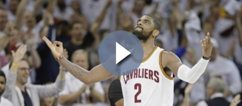 Kyrie Irving reportedly requested the Cleveland Cavaliers front office for a trade (via YouTube/NBA)