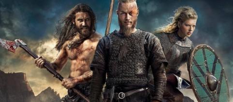 Travis Fimmel crashes 'Vikings' panel at SDCC as Ragnar Lothbrok pranks cast mates. (Image credit: Flickr/Public domain)