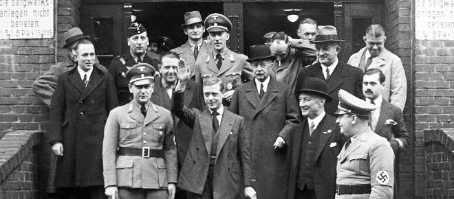 The Nazi Party and the Queen's uncle, Edward VIII