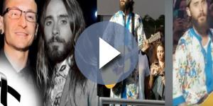Jared Leto prestou homenagem a Chester, do Linkin park