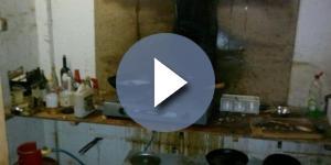 sporcizia e degrado con due figli minori in casa