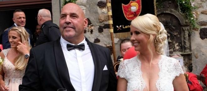 Hells Angels: Frank Hanebuth und Sarah kriegen Gottes Segen!
