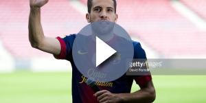 Official Presentation of New FC Barcelona Player Jordi Alba Photos ... - gettyimages.com