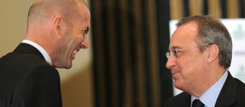 Florentino y Zidane y su plan de fichajes para el Real Madrid ... - villamelones.mx