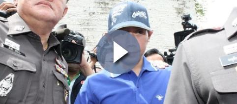 El heredero de Red Bull en Tailandia al ser arrestado en 2012
