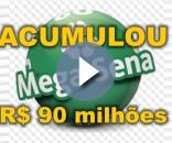 Mega-Sena está acumulada em R$ 90 milhões