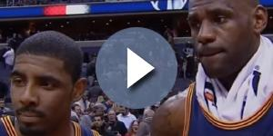 Life will never be the same for Kyrie Irving and LeBron James -- Fox Sports Ohio via YouTube