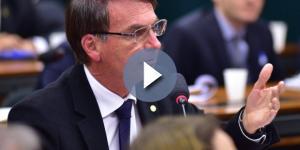 Deputado Federal Jair Bolsonaro (Foto: Reprodução)