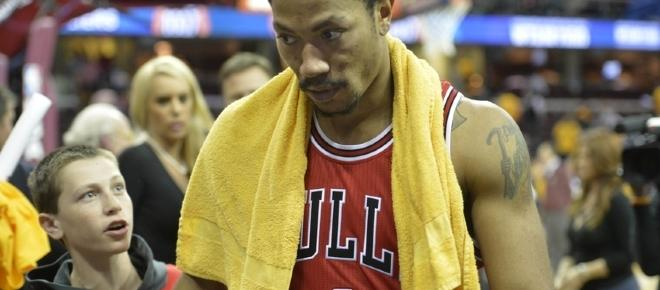 Derrick Rose takes over Cleveland Cavaliers