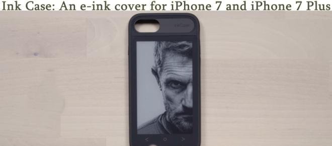 Oaxis Ink Case for iPhones might be the coolest iPhone case ever